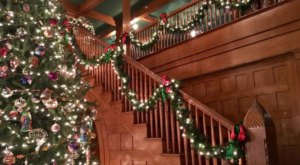 Celebrate The Season At Christmas At The Conrad Mansion In Montana