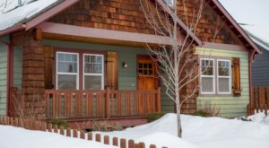 Enjoy Quality Family Time At This Cozy Montana Vacation Home Full of Rustic Elegance