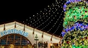 Everyone Is A Kid Again At  Busch Gardens Christmas Town, Virginia's Magical Christmas Village