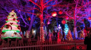 Go Walking In A Winter Wonderland During The Canterbury Village Holiday Stroll In Michigan