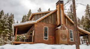You'll Never Want To Leave This Luxurious, Cozy Cabin In Montana