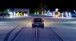 Alaska's Enchanting 1 Mile Bright Up The Night Holiday Drive-Thru Is Sure To Delight