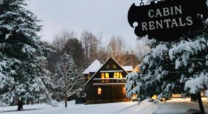 You'll Want To Hibernate All Winter Long Inside The Timber Frame Cabins At Shadow Mountain Escape In Virginia
