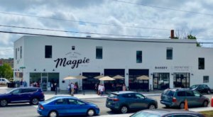 Enjoy A Tasty Meal From Magpie Diner, Located In A Converted 1950s Tire Service Station In Virginia