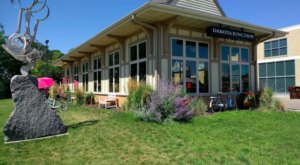Ride On Up To Dakota Junction, An Adorable Restaurant Right Next To A Popular Minnesota Bike Trail