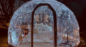 Sleep Inside A Snow Globe At This Beautiful Dome Airbnb In Minnesota
