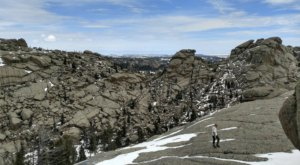 The Vedauwoo In Wyoming Is A Picture-Perfect Place For Your First Hike Of The New Year