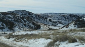 Drive Through North Dakota's Theodore Roosevelt National Park This Winter To Experience It In A Whole New Way