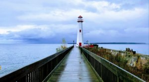 Michigan's Wawatam Lighthouse Is A Beautiful Beacon With A Fascinating History