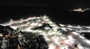 For A Twist On Winter Fun, Go Night Skiing At Brandywine Ski Resort Near Cleveland