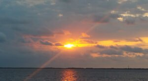 The Best Sunrise Experience On The East Coast Can Be Found On The Southport Ferry In North Carolina