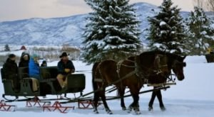 See The Charming Heber Valley In Utah Like Never Before On This Delightful Sleigh Ride
