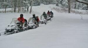 Take This Exhilarating Snowmobile Tour Through New York's Adirondacks For The Ride Of A Lifetime
