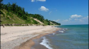 Lake Michigan In Indiana Has A Beautiful Beach That Rivals The Coast