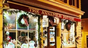 Enter A Pottery Paradise At The Annapolis Pottery In Maryland