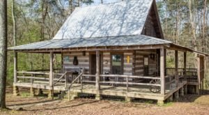 Take A Step Back In Time With An Overnight Stay At The Historic Bear Creek Log Cabins In Alabama