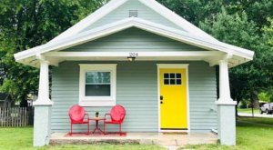 Ride Route 66 To A Tiny Home Called The Yellow Door Inn In Small Town Kansas