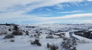 For An Easy Winter Hike With Amazing Payoffs, Check Out The Four Dances Trail In Montana
