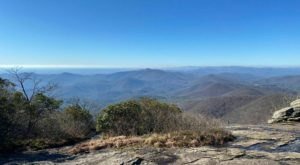 Take In The Most Impressive Mountaintop Views From The Top Of Blood Mountain In Georgia