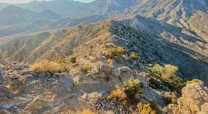 You Can See For Miles When You Reach The Top Of The Turtlehead Peak Trail In Nevada