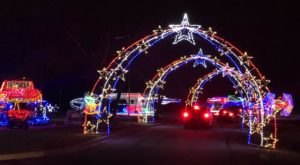 Illinois' Enchanting 1-Mile Folepi's Winter Wonderland Holiday Drive-Thru Is Sure To Delight