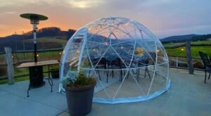 Enjoy Igloo Dining With A View This Winter At Mountain State Brewery In Maryland