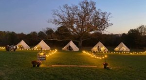 Reserve Your Own Cozy Tent Or Fire Pit This Winter At Lone Oak Farm Brewing Co. In Maryland