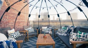 Rent Your Own Heated Igloo At Iglootown, A Winter Rooftop Oasis In Oklahoma