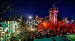 Winter Wonderland At The Gathering Place In Oklahoma Will Make You Feel Like You're In The North Pole