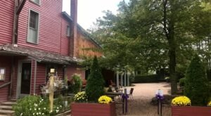 Dine At The Waterwheel Restaurant In Virginia And You Can Pick Out Your Bottle Of Wine From The Cellar Downstairs