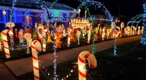 You've Gotta See These 7 Spectacular Neighborhood Christmas Light Displays In Illinois