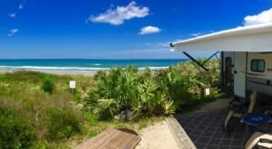 Spend The Weekend On The Water At This Oceanfront Campground In Florida