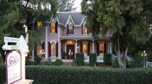 Escape To A Victorian Gothic Mansion In Northern California's Wine Country At The Gables Inn