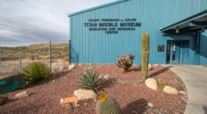Few People Know There's A Cold War-Era Missile Museum Right Here In Arizona