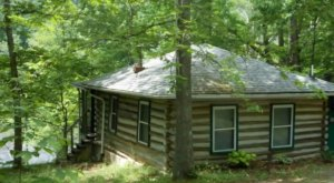 Forget The Resorts, Rent This Charming Waterfront Log Cabin In West Virginia Instead
