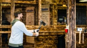 Try Your Hand At Axe Throwing At One Of These 6 Venues In Illinois