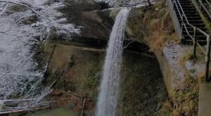 Take A Winter Waterfall Hike In Kentucky To The Majestic Broke Leg Falls