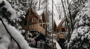 The Perfect Winter Escape Is Hiding In The Trees At This Cozy Treehouse In Kentucky