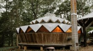 The Enchanting Forest Garden Yurt Is The Most Bookmarked Airbnb In Missouri