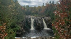 Take A Wisconsin Adventure To Our State's Stunning Double Waterfall