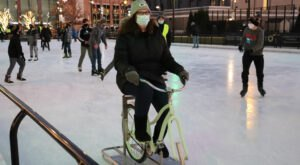 Rent An Ice Bike And Cruise Around A Skating Rink On A One-Of-A-Kind Winter Adventure In Wisconsin