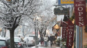 Stroll Through The Enchanting Town Of Lititz, In Pennsylvania, For Its First-Ever Ice Walk