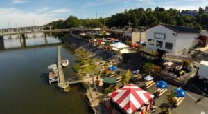 Drink In Stunning Views Of The Susquehanna River At Dockside Willies In Pennsylvania