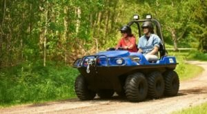 Rent An Argo ATV In Wisconsin And Go Off-Roading Through A 900-Acre Deer Farm