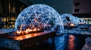 Sip Wine In An Igloo This Winter At The Davenport Grand Hotel In Washington