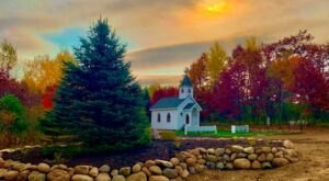 You Won't Find Another Place Like Angels Of The Prairie, A Beautiful Country Chapel In Rural Minnesota