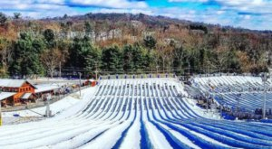 With 42 Lanes, Pennsylvania's Largest Snowtubing Park Offers Plenty Of Space For Everyone
