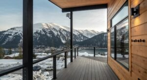 Overlook Downtown Juneau And Gastineau Channel In This Stunning Mountain View Retreat In Alaska