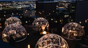 The Rooftop Igloos At The Bobby Hotel In Nashville Offer A Winter Experience Like No Other