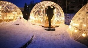 Dine Inside A Private Igloo With Your Very Own Heaters At The PubHouse In Alaska
